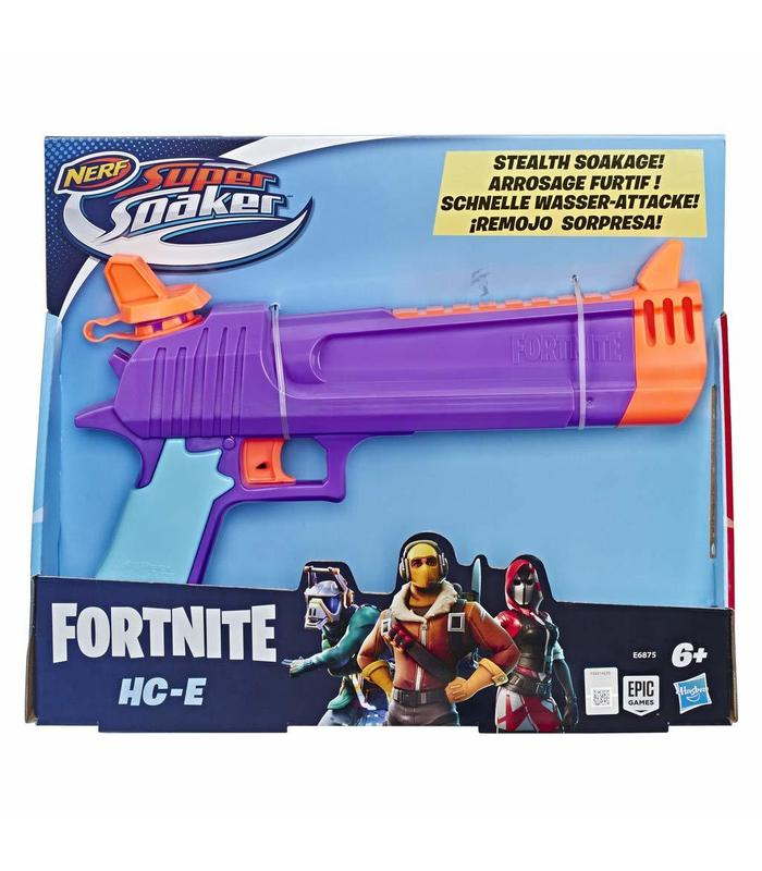 Nerf Gun Supersoaker Fornite HC-E Toy Store
