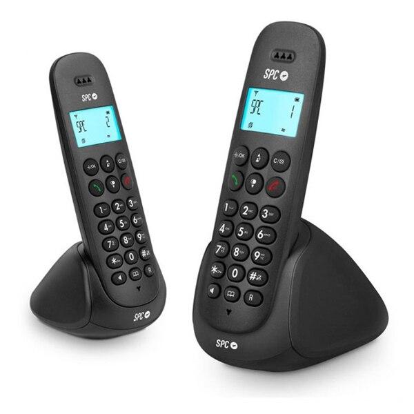 Беспроводной телефон SPC 7312N DECT (2 шт) черный