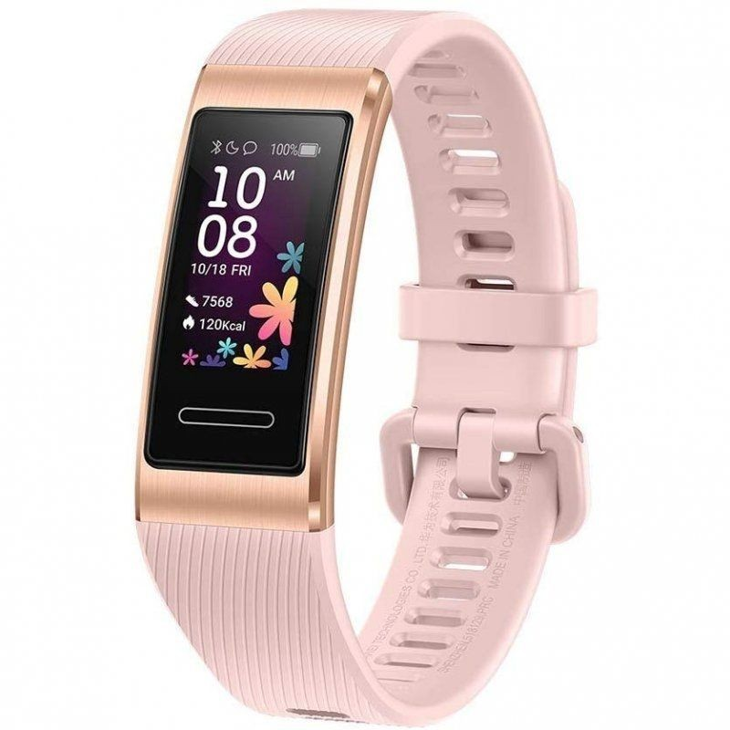 Quantifying Bracelet Huawei Band 4 Pro Pink Gold-2.41cm Color - Bat 100mah-bt4.2-heart Rate-5atm-