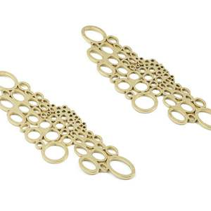 Brass Mini Circles Earring Cha