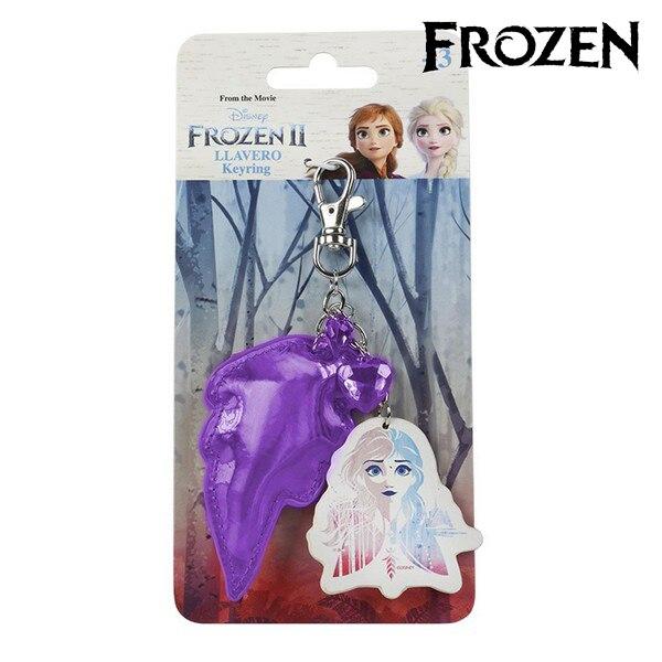 3D Keychain Anna Frozen 74048 Purple