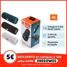 JBL Flip 5 Altavoz Bluetooth Potente, Mini portátil, inalámbrico, impermeable BT Altavoz con bajos y estéreo de música perfecto para viajes y al aire libre, Altavoces, USB