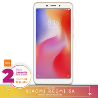 [Official Spanish Version] Xiaomi Redmi 6A 13,8 cm (5.45 ) 2 GB 3 2 GB SIM Double 4G 3000 mAh Smartphone