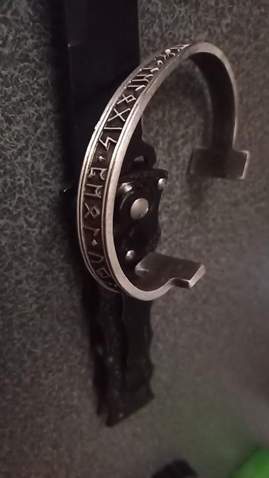 צמיד יד ויקינג לגבר דגם 6211 photo review