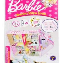 Barbie Benim Rüya Evim (Fotoblok Malzeme)