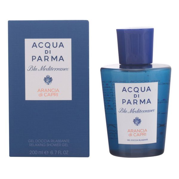 Shower Gel Repairing Blu Mediterraneo Arancia Di Capri Acqua Di Parma (200 Ml)