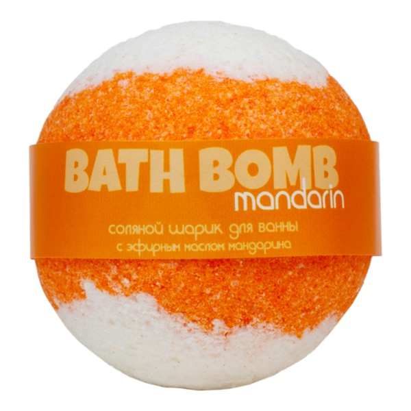 Savonry Bath Ball Orange Mood (Mandarin)