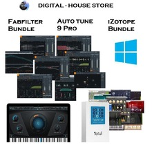 Fabfilter iZotope Bundle Auto tune 9 Pro VST Plugin Win for producers and beatmakers
