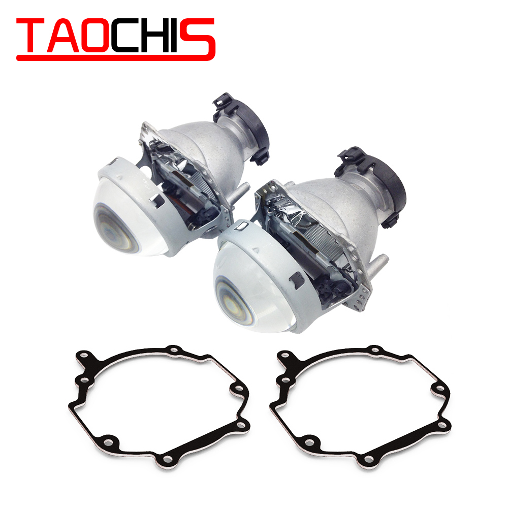 TAOCHIS Car Styling Transition Frame Adapter Hella 3R G5 Projector Lens Retrofit Bracket For TOYOTA AVENSIS II 2007 - 2009