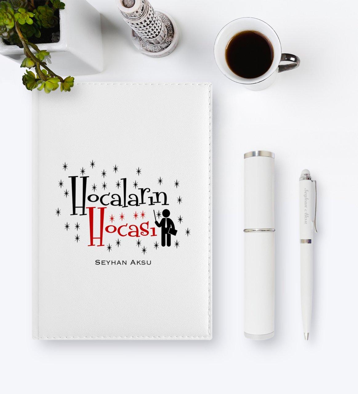 Personalized Hocaların Mentor 2020 Leather Organizer & Pen Gift Set-1
