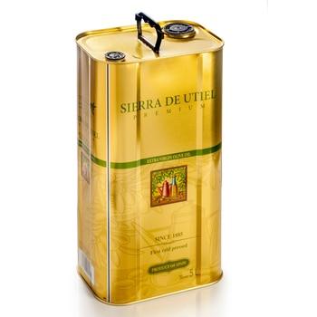 Sierra Utiel - Extra Virgin Olive Oil  - 5L Tin
