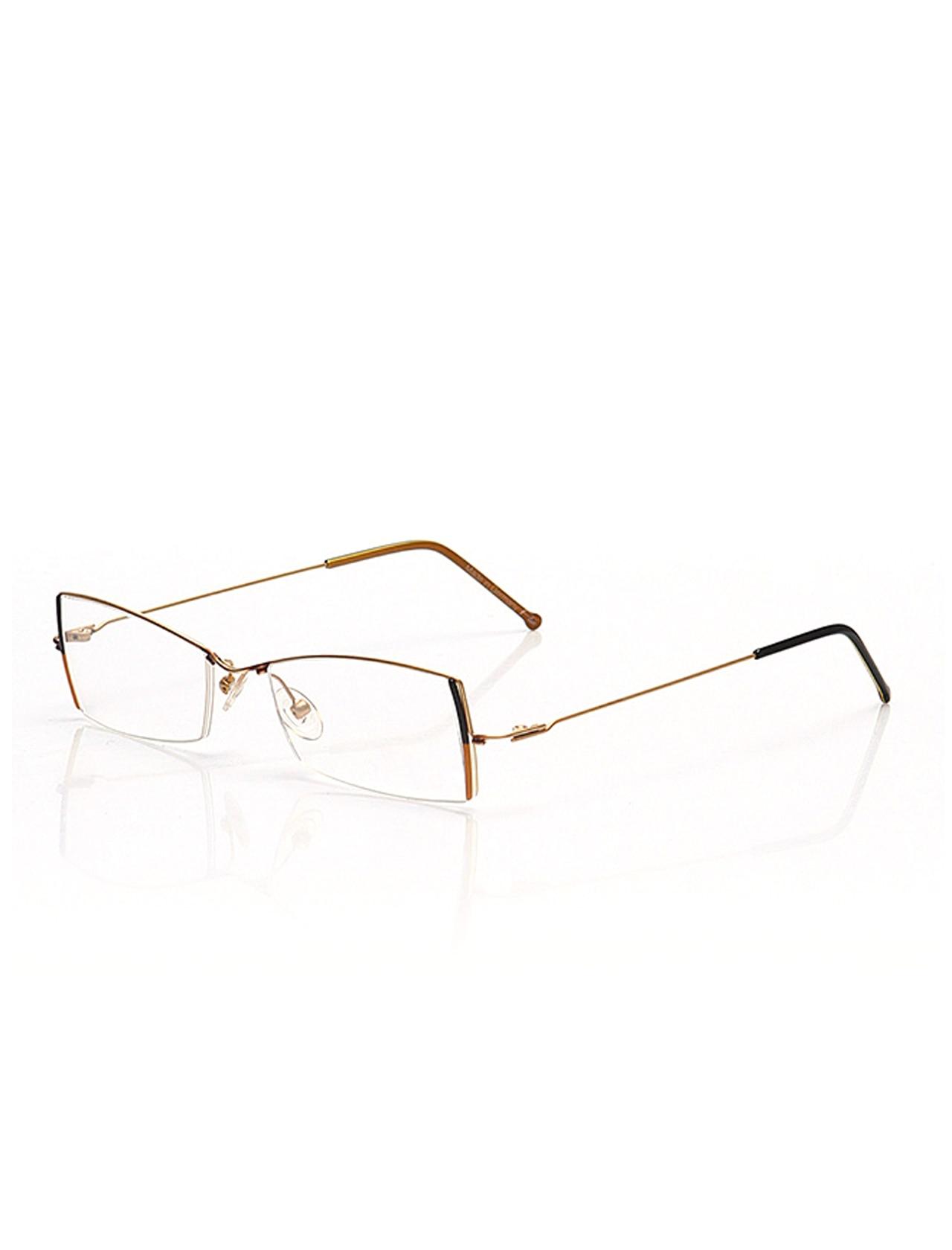 Markamilla Women Reading Glasses Frame Demo Glasses Eyewear Transparent High Quality WomenFlair FLR 454 045 49