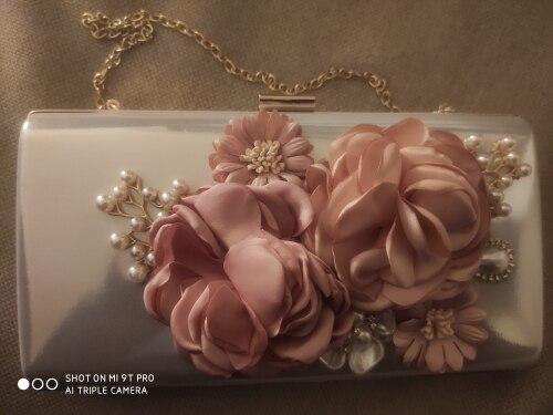 -- Flores Casamento Embreagem