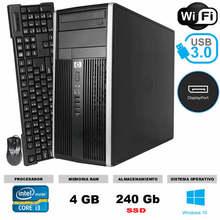 ORDENADOR HP COMPAQ PRO 6300 MT INTEL CORE I3 4 GB RAM 240 GB SSD