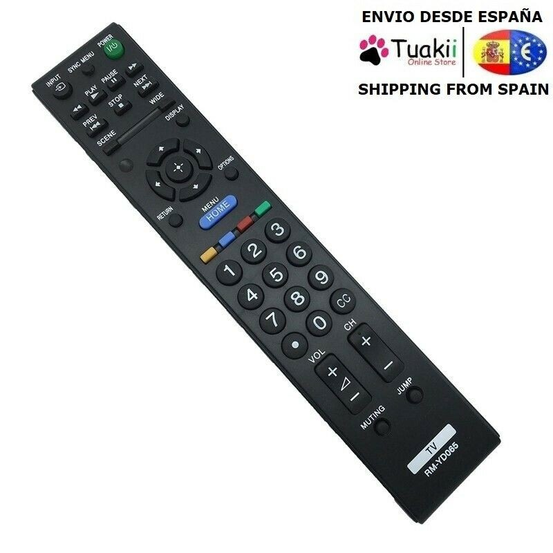 Remote controller Official factory replacement Original Sony RM-YD065 LCD TV image