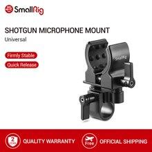 SmallRig uniwersalny mikrofon uchwyt zaciskowy lustrzanka cyfrowa do pistoletu fotograficznego montaż zacisku mikrofonowego 1993