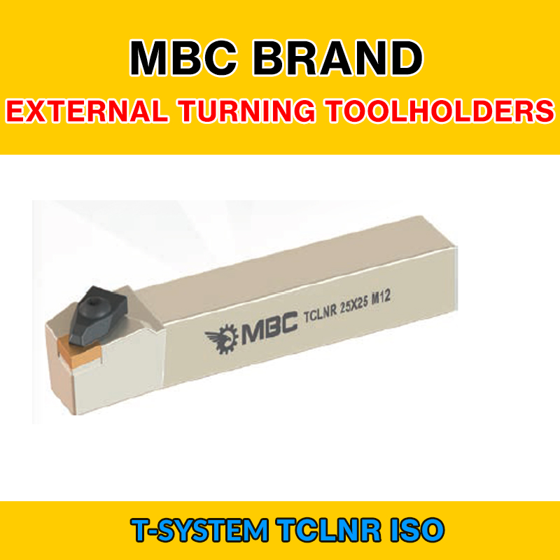 TCLNR 006 ISO T SYSTEM EXTERNAL TURNING TOOLHOLDERS LEFT/RIGHT TCLNR 32X32 P16|Turning Tool| |  - title=