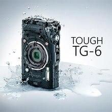 Компактный цифровой фотоаппарат Olympus Tough TG-6(черно-красный