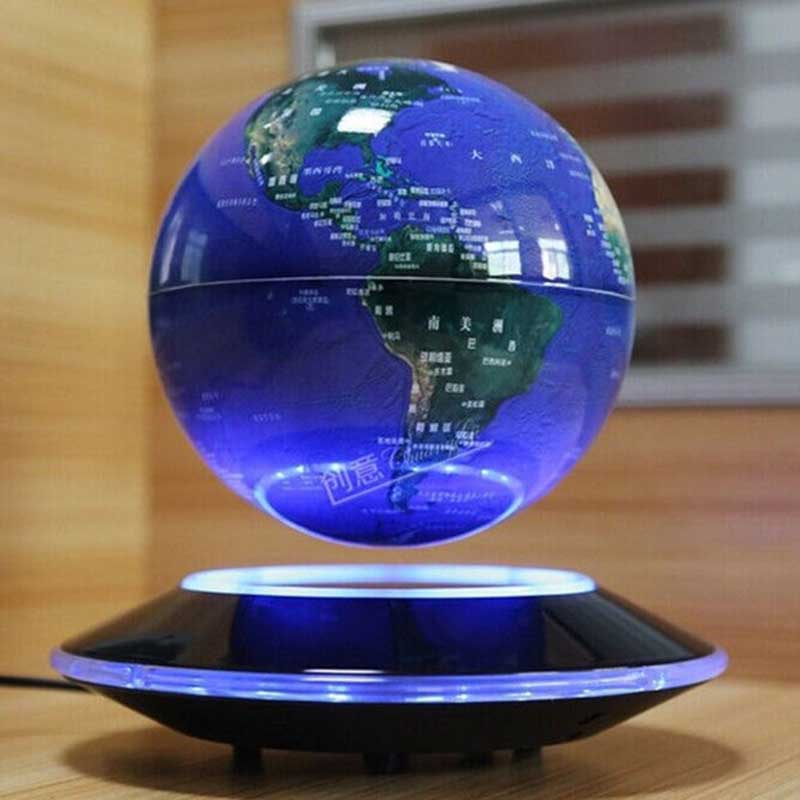 Floating Globe Light Floating Globe How It Works Floating Globe Mova Stellanova Levitating Globe Best Levitating Globe