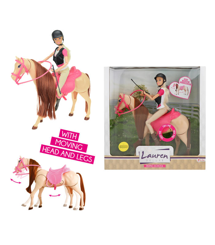Doll Teenager In Horse Mobile Toy Store Articles Created Handbook