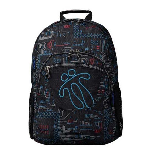 School Bag Totto Acuareles Black Blue (44 X 35 X 14 Cm)