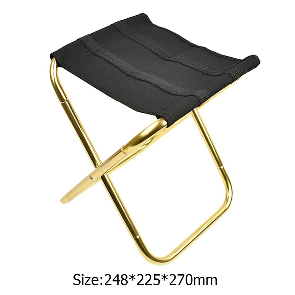 Портативное складное кресло, крепкое удобное сверхлегкое пляжное кресло для походов, рыбалки, кемпинга, отдыха на открытом воздухе, стулья, рыболовное кресло - Цвет: 5