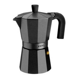Włoski dzbanek do kawy Monix M640003 (3 kubki) Aluminium w Maszyny do kawy od AGD na