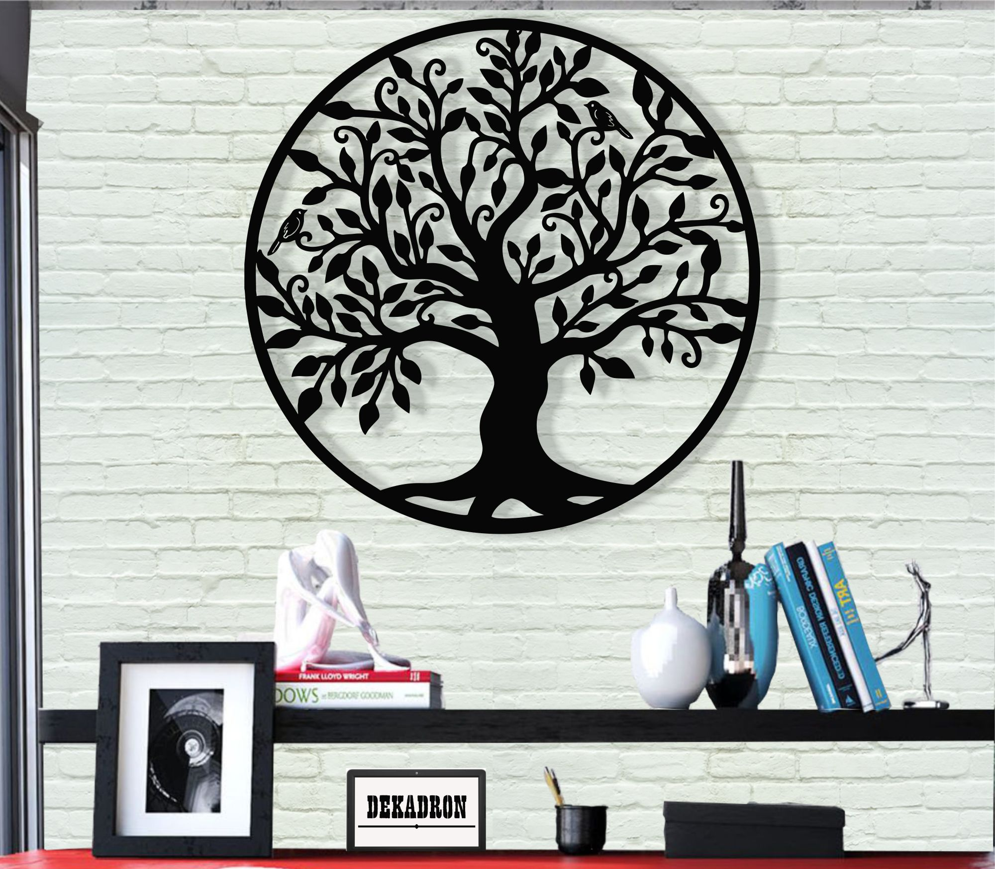 Metal Wall Art, Tree of Life Wall Art, Metal Family Tree Sign, Metal Wall Decor, Interior Decoration image