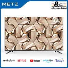 La televisión de 32 pulgadas SMART TV METZ 32MTB7000 ANDROID TV 9,0 sin marco Asistente de Google CONTROL remoto por voz-2 año