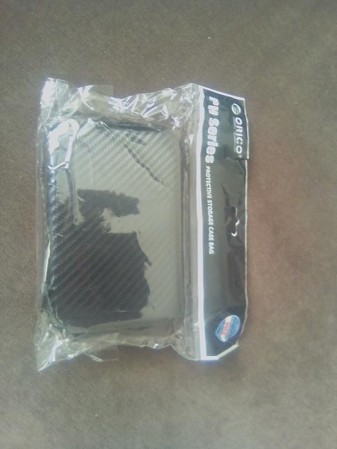 ORICO 2.5 Hard Disk Case Portable HDD Protection Bag for External 2.5 inch Hard Drive Earphone U Disk Hard Disk Drive Case Black reviews №3 43351