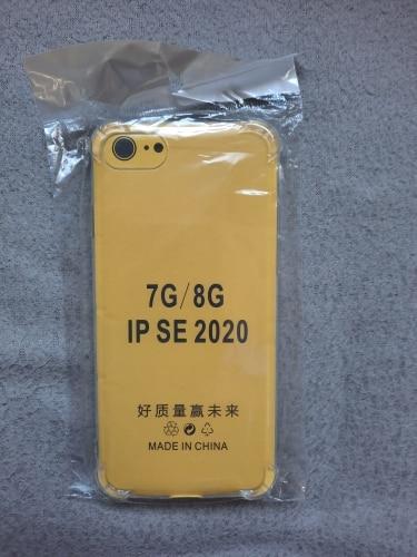 Coque de téléphone Ultra mince et transparente, étui en Silicone résistant aux chocs pour iPhone