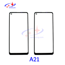 A21 Glass With OCA Glue For Samsung Galaxy a21 Display Screen Outer Lens Replace High Quality Touch Screen Repair Parts