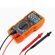 RM113A Digital Multimeter 2000 Counts Auto Ranging AC DC Voltage Meter LCD Manual Electronic Probe Measurement Diode Resistance стоимость