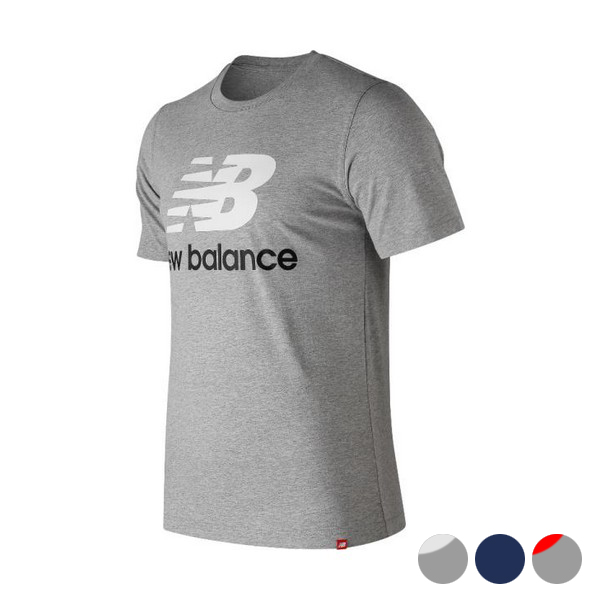 Men's Short Sleeve T-Shirt New Balance Esse St Logo