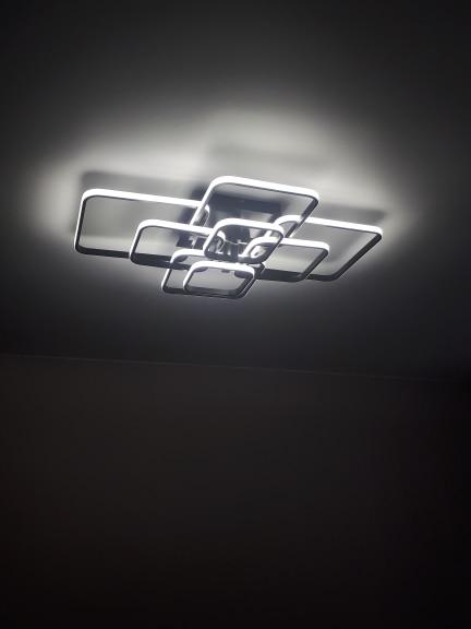Luzes de teto Lustre Lustre Conduziu