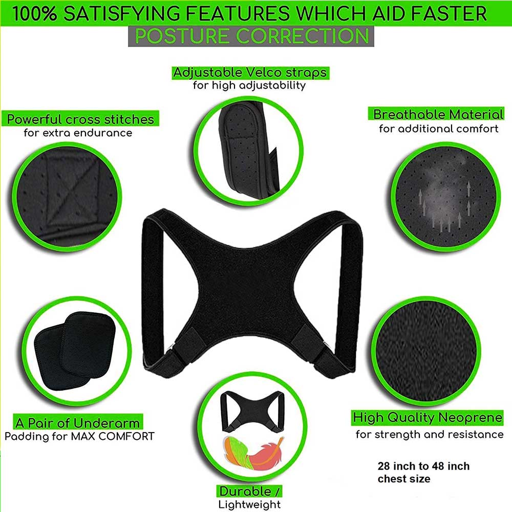 Spine Back Posture Corrector and Protection 2