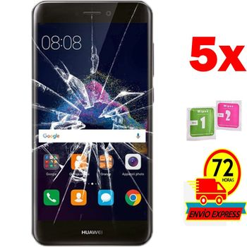 5x Protectors Screen Tempered Glass for for HUAWEI P8 LITE 2017 (Not Full SEE INFO)