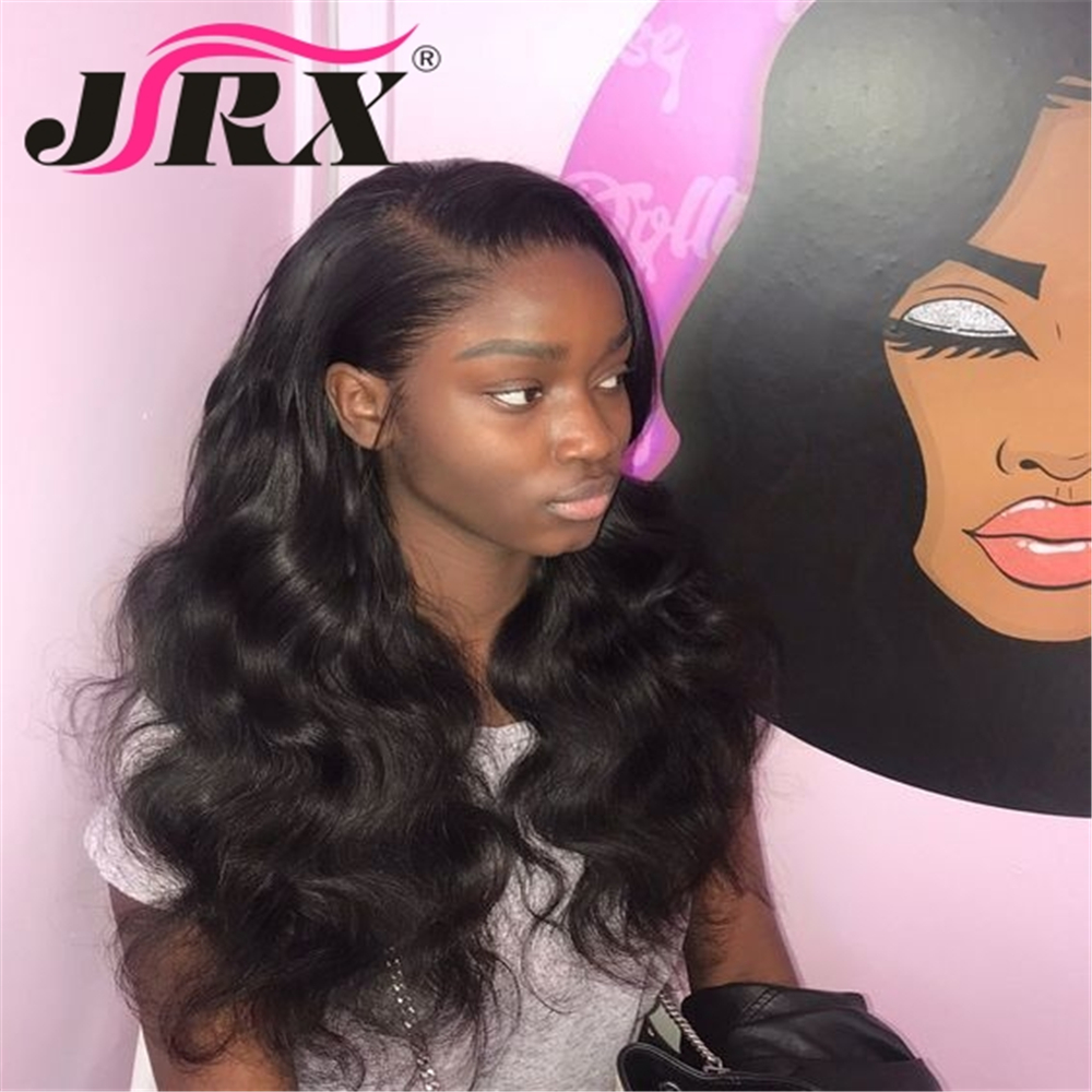 Wigs Human-Hair-Wigs Natural-Color Body-Wave Lace-Front Women Brazilian for 150%Density