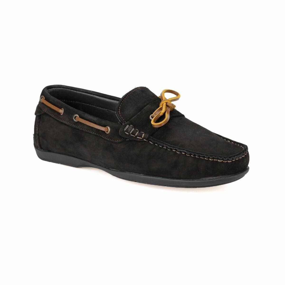FLO MOURA Black Men 'S Classic Shoes MERCEDES