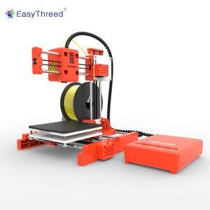 Image 3 - طابعة EasyThreed صغيرة ثلاثية الأبعاد رخيصة PLA الراتنج FDM صغيرة Impressora ثلاثية الأبعاد البرازيل الروسية اليورو مستودع impresora ثلاثية الأبعاد Imprimante X1