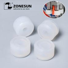 ZONESUN חיכוך גלגלי גומי כרית מכסת צ אק ראש עבור XLSGJ 6100 רפואי בקבוק מכסת מכונה קוסמטי בושם מיץ