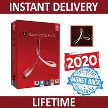 Adobe Creative Cloud – Acrobat Pro DC 2020, tout-en-un, x64 Bit, multilingue, avec Win/Mac, livraison rapide, gratuit à vie