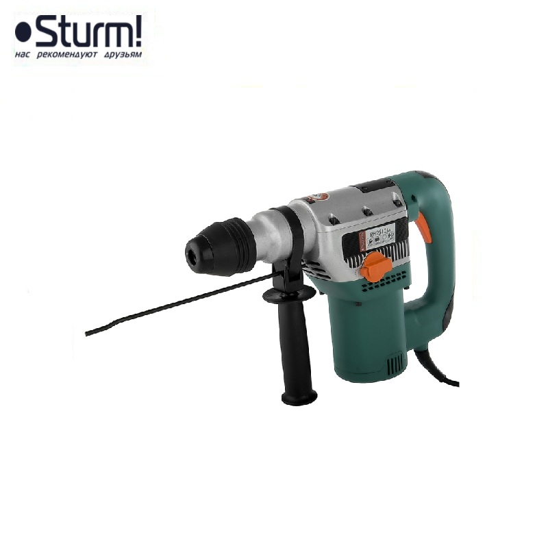 RH2512M Sturm Rotary hammer, 1800 W, 9 J, SDS-Max, 0-3800 bpm, 550 rpm, 2 modes, case Jackhammer Drilling and Grooving operation id2195p hammer drill pros sturm 1000 w 0 2700 rpm 0 45900 bpm percussion drill boring hammer drilling in concrete