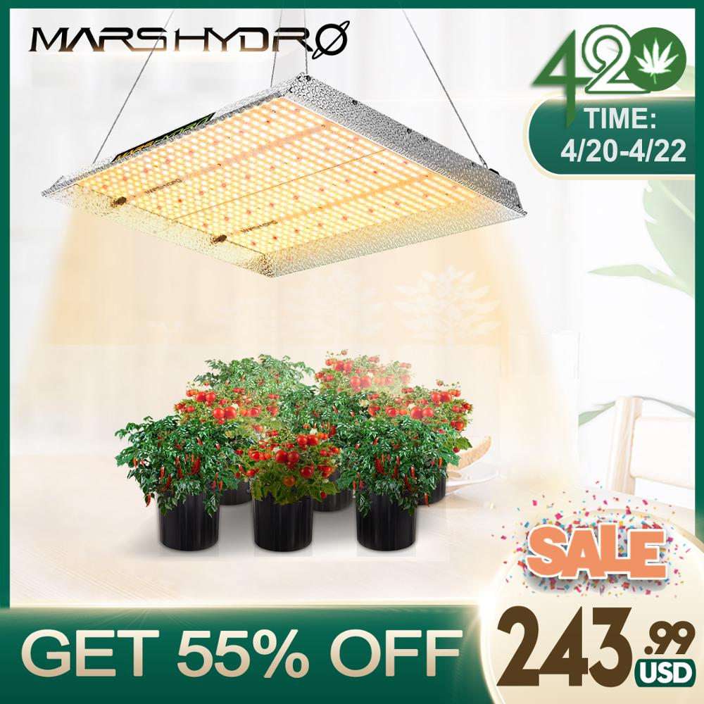 420 SALE TSW 2000W Mars Hydro led grow light Full spectrum indoor plants hydroponic system led growing lights for Grow Lights