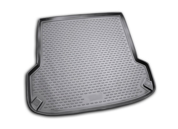Trunk car mat for Skoda Octavia Tour 1998~ wagon car interior protection floor from dirt guard car styling image