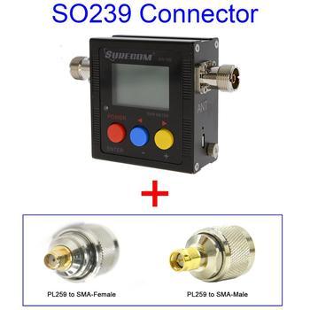 SURECOM SW102-S V.S.W.R. METER + PL259 to SMA Adaptor (126478)
