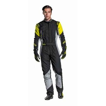 S001127554NGRG-Dungarees R551 Grip Rs-4.1 Size 54 Black/Gray/Yellow Sparco