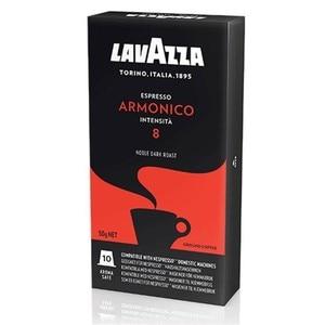 Harmonic Espresso, 10 LAVAZZA capsules compatible nespresso