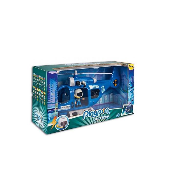 Pinypon Action Helicopter Police Toy Store