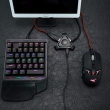 PUBG controlador de Gamepad móvil teclado de juegos convertidor de ratón para IOS Android teléfono inteligente a ordenador adaptador Bluetooth 4,1 portátil
